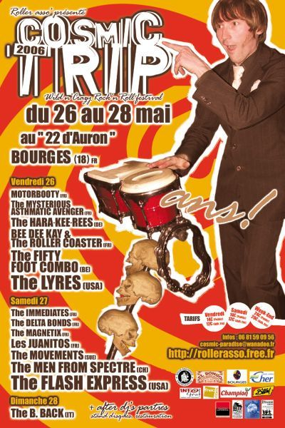 Affiche Cosmic Trip Festival 2006