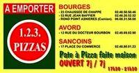 1, 2, 3, pizzas